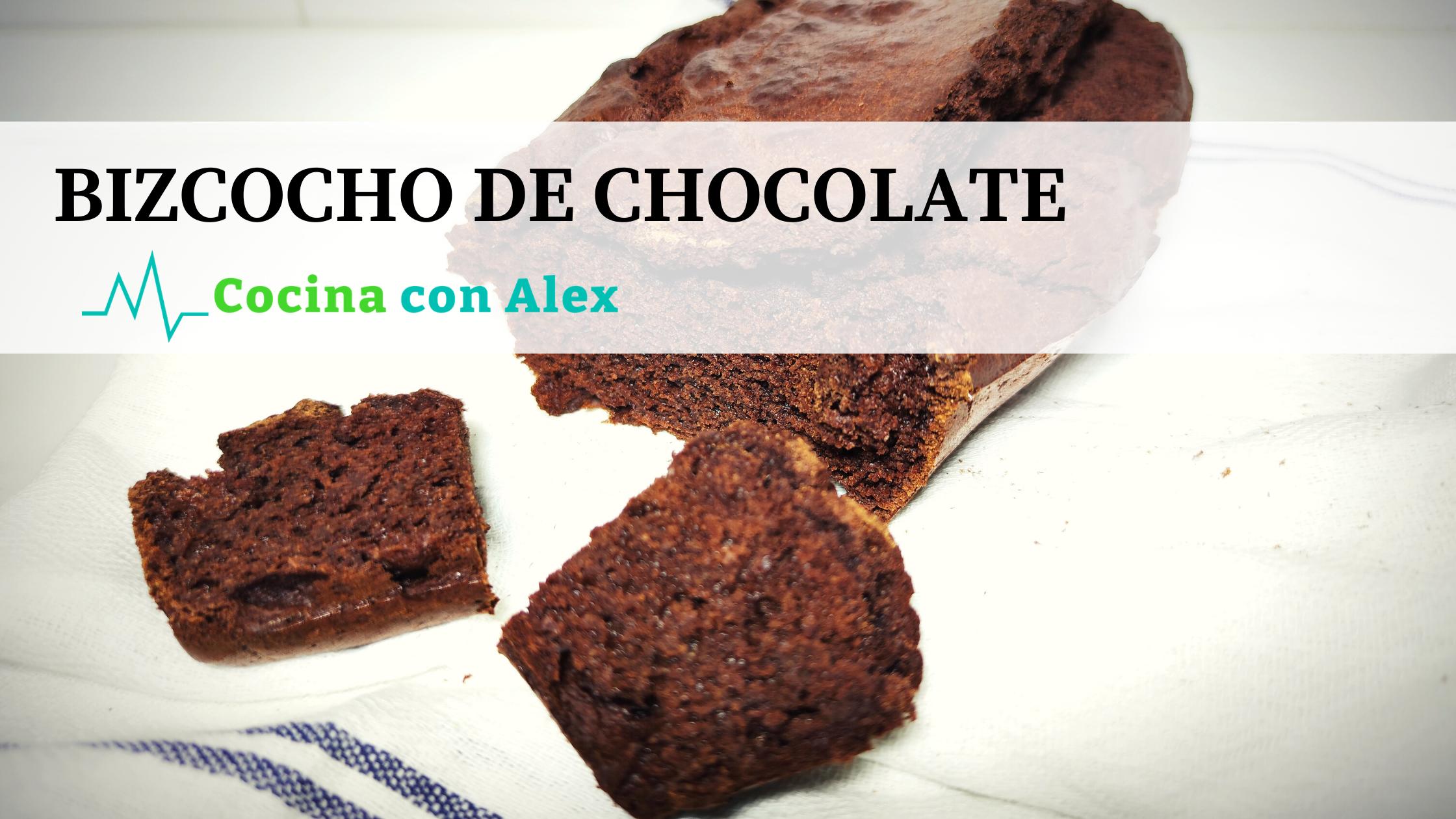 Bizcocho de chocolate fit alex arroyo fit. Un postre perfecto para seguir cuidando de la dieta y perder peso.